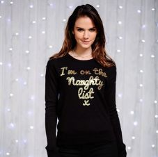 WOMEN'S 'NAUGHTY LIST' JUMPER